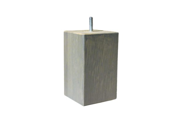 zware houten blokpoot